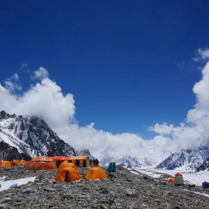 broad peak base camp camping