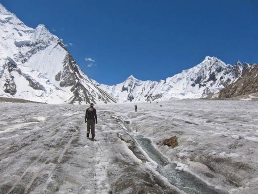 Day 16:  Trek to Gasherbrum I & II Base Camp