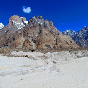 higest cold desert in baltoro glacier
