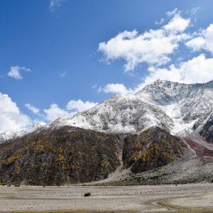rupal valley snow line