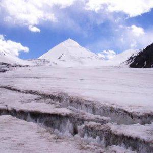 sonia peak glacier