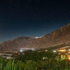 Hunza night