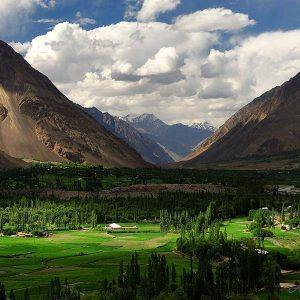 Laspur village Chitral