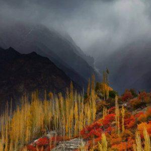 hunza autumn color