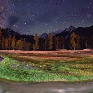 rama night view