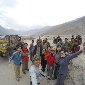 shigar road to askole